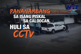 Pananambang sa isang piskal sa Caloocan, huli sa CCTV