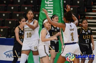 UAAP: NU Lady Bulldogs continue to dominate, drub UST