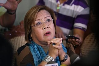 Pangilinan: De Lima should be allowed to defend self over GCTA mess