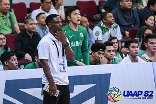 UAAP: La Salle has to stay together amid slow start, says Byrd