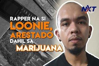 Rapper na si Loonie, arestado dahil sa marijuana