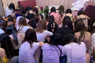 More than 50 Chinese women rescued from prostitution den in Parañaque