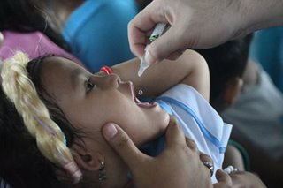 DOH taps fast food chain to reach more children in anti-polio drive
