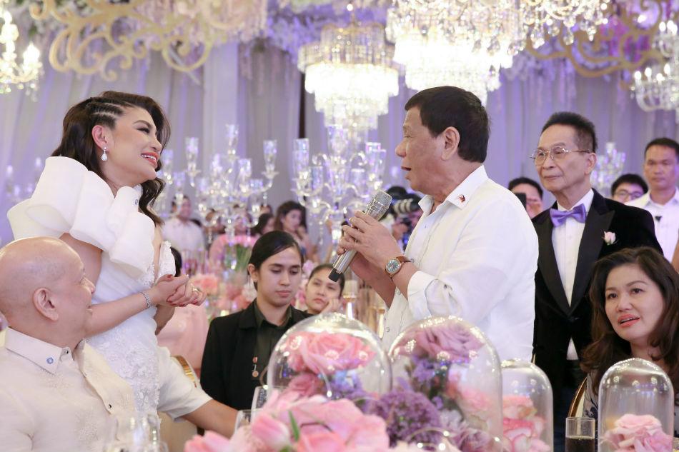 LOOK: 'Mentor' Duterte attends baptism of Velasco's daughter 4