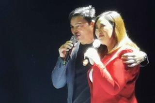 LOOK: 'Original love team' Sharon-Gabby reunites on concert stage