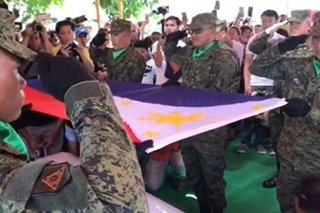 PMA cadet Darwin Dormitorio laid to rest with full military honors