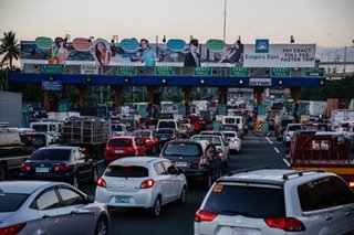 Solon to SLEX operators: Lower or suspend toll fees for 6 months