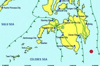 Magnitude 6.4 quake strikes off Davao Occidental