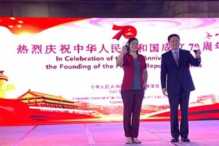 Sara Duterte leads China's anniversary celebration in Davao City