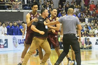 UAAP: UP coach Perasol suspended for 3 games