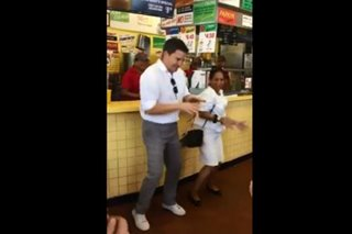 WATCH: Edu Manzano dances 'Papaya' in front of Gray's Papaya in New York
