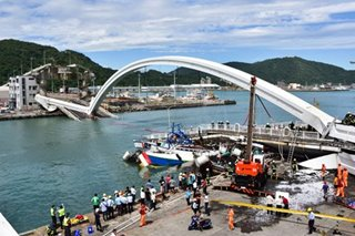 5 Pinoys hurt in Taiwan bridge collapse
