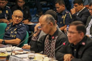 PDEA chief says Albayalde asked him not to dismiss 'ninja cops'