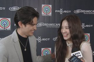 WATCH: James Reid, Momoland's Nancy share first impressions of each other