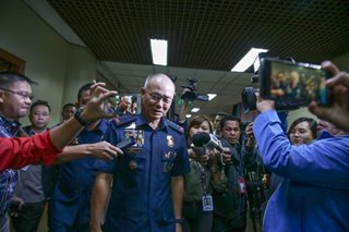 Follow chain of command, police general says on Albayalde woes