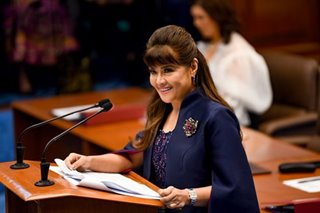 Imee Marcos wants tax relief for 'good Samaritans' in COVID-19 crisis