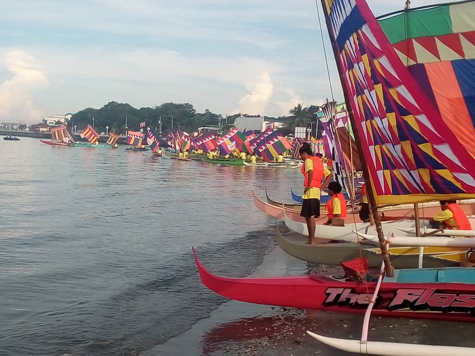 200 vintas color Regatta de Zamboanga 2019