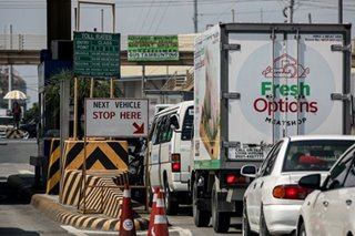 SLEx traffic 'almost back to normal': toll board