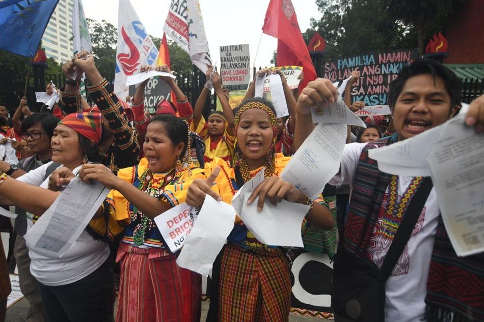 Lumad slams DepEd closure order