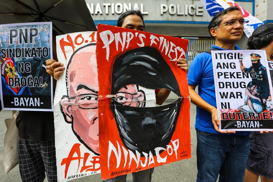 Bayan calls for PNP Chief Albayalde's resignation