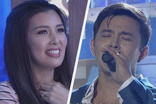 WATCH: Sunshine Garcia a proud wife as Alex Castro joins 'Tawag ng Tanghalan'