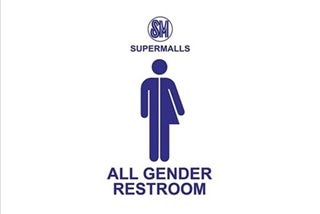 SM malls to begin installing 'all-gender' restrooms in November