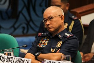 'Ninja cops' probe findings out before Albayalde retirement: Napolcom