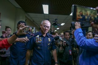 Duterte leaves Albayalde, 'ninja' cops' fate to DILG, DOJ