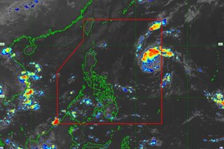 PAGASA keeping eye on low-pressure system off Aurora