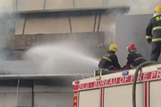 Fire hits GenSan mall after deadly quake