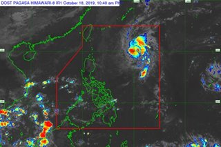 'Almost stationary' storm Perla unlikely to hit Luzon