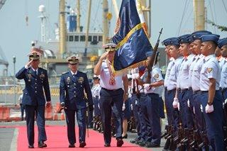 US Coast Guard commandant visits Manila