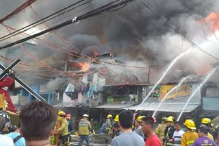 Fire guts Manila residential area