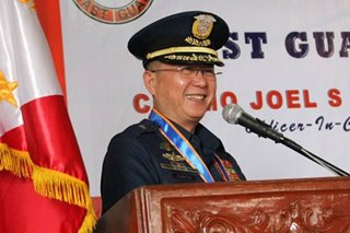 Duterte appoints new Coast Guard chief
