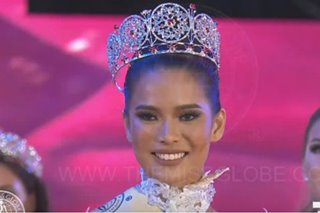 Leren Mae Bautista is Miss Globe 2019 2nd runner-up