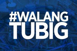 #WalangTubig: Water interruption sa Metro Manila, mga karatig-probinsiya