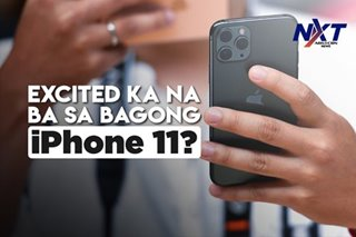 Excited ka na ba sa bagong iPhone 11?