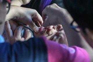 Lahat ng batang edad 5 pababa sa QC nabakunahan na kontra polio