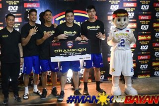 3x3: Balanga downs Pasig anew, wins 3rd straight title