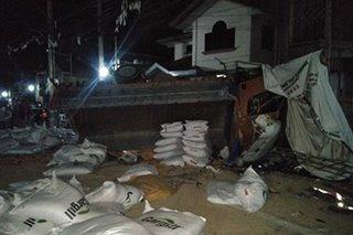 Lamay inararo ng truck sa Batangas; 3 patay