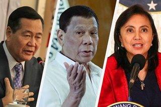 Carpio: If Duterte can't solve drug problem in 6 months, why give VP Leni 6 months?