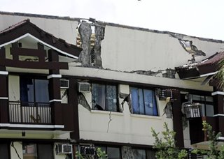 Damaged Davao condo condemned ahead of strong quake: Mayor Sara