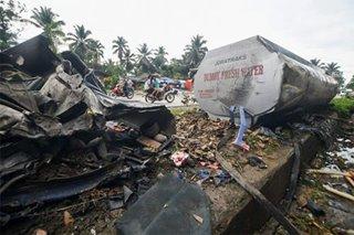 Water tanker mishap in Cotabato