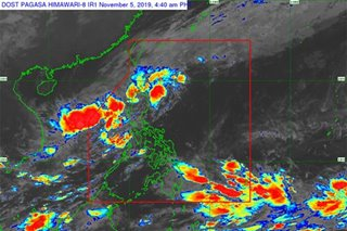 LPA off Zambales now a tropical depression