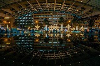 LOOK: Ayala Avenue lights up for Christmas