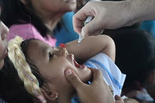 Polio vaccine free at quarantine bureau, but certificates fetch fee