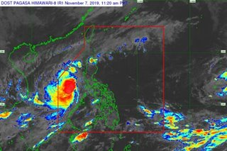 Quiel now a severe tropical storm, will intensify into a typhoon