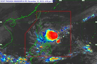 Signal No. 1 raised over Eastern Samar as 'Ramon' moves West