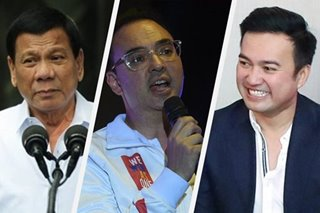 Cayetano says to follow Duterte on term-sharing with Velasco
