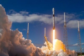 SpaceX sends up 60 mini-satellites with plans for thousands more